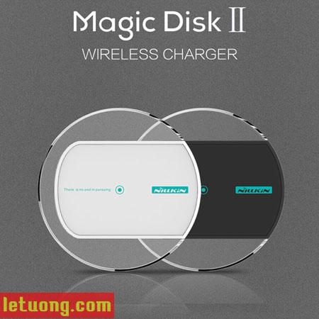 Đế sạc không Nillkin MagicDisk 2 chuẩn QI, đèn LED đẹp mắt 1
