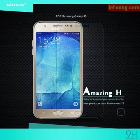 Kính cường lực Samsung Galaxy J5 Nillkin Amazing 9H chống vỡ 1