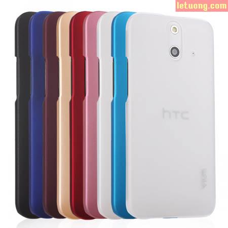 Ốp lưng Htc One E8, E8 2 sim Yius Case siêu mỏng, lưng nhung 1