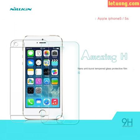 Kính cường lực Iphone SE/5/5S Nillkin Amazing 9H chống vỡ màn