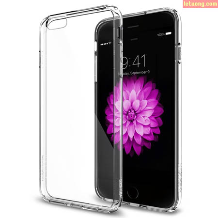 Ốp lưng Iphone 6 Plus Spigen Ultra Crystal trong suốt từ Mỹ 1