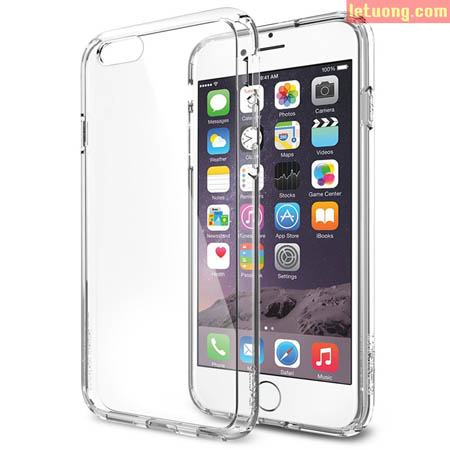 Ốp lưng Iphone 6 Spigen Ultra Crystal trong suốt từ Mỹ 1