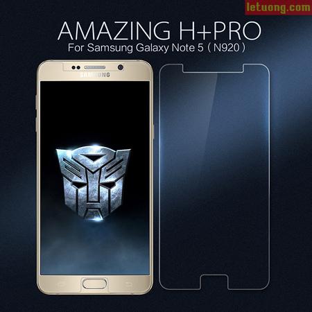 Kính cường lực Galaxy Note 5 Nillkin Amazing H+ Pro 0,2mm 1