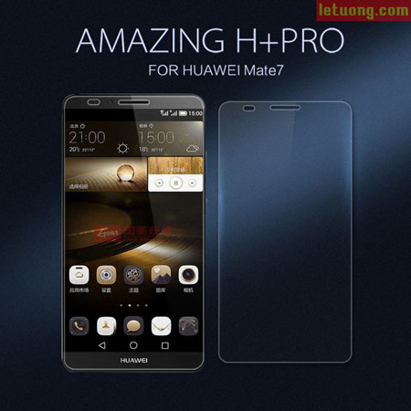 Kính cường lực Huawei Mate 7 Nillkin Amazing H+ Pro 0,2mm 1