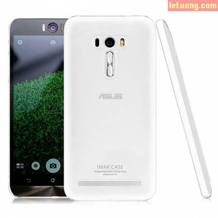 Ốp lưng Zenfone Selfie ZD551KL Imak trong suốt, lưng phủ Nano 1