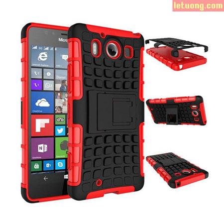 Ốp lưng Lumia 950 LT Armor Special chống sốc, có chân chống 1