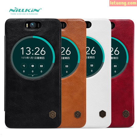 Bao da Zenfone Selfie ZD551KL Nillkin Leather View tiện dùng. 1