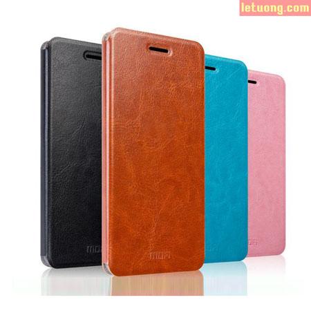 Bao da Lenovo Vibe P1 Mofi Leather Case mỏng gọn, bảo vệ tốt 1