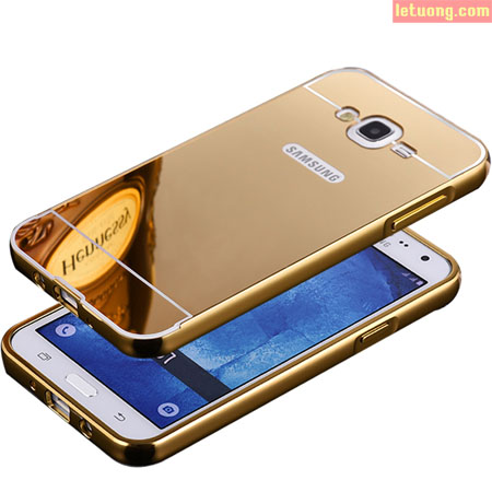 Ốp lưng Samsung Galaxy On7 LT Armor Metal 24K tráng gương 1