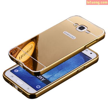 Ốp lưng Samsung Galaxy J5 LT Armor Metal 24K độc, sang trọng 1