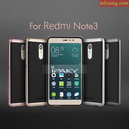 Ốp lưng Xiaomi Redmi Note 3 Ipaky Case 2 lớp tuyệt đẹp, chống sốc 1