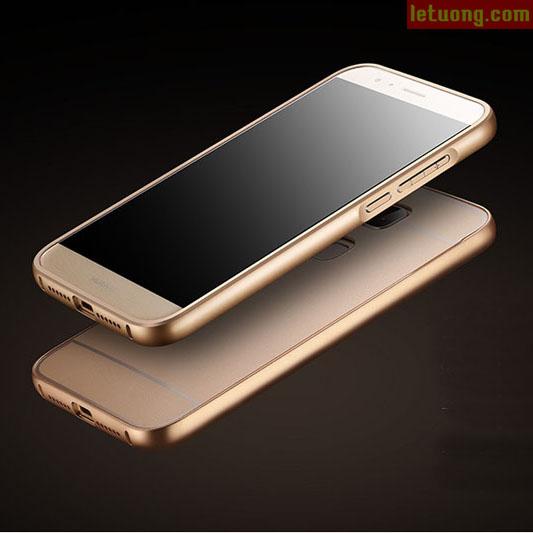 Ốp lưng Huawei G7 Plus LT Armor Metal viền nhôm như Iphone 6