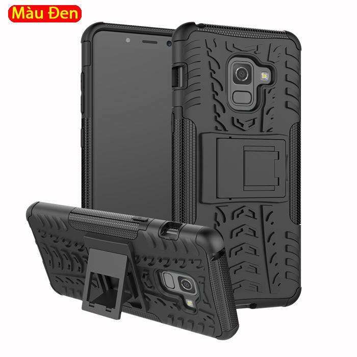 Ốp lưng Galaxy A8 2018 LT Armor Special chống sốc có chân chống