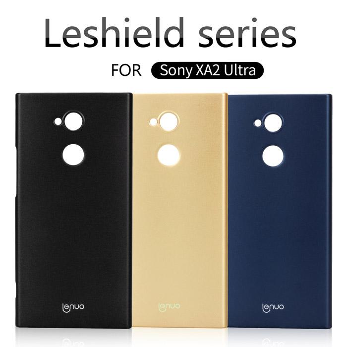 Ốp lưng Sony XA2 Ultra Lenuo Leshield Case siêu mỏng, lưng mịn