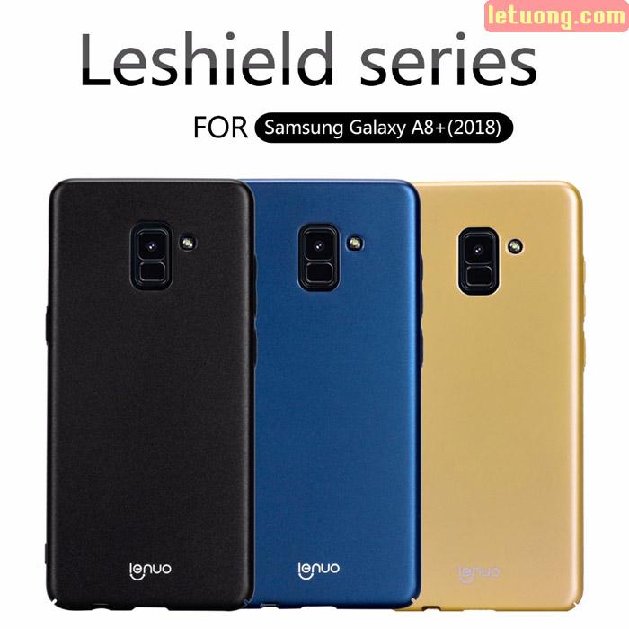 Ốp lưng Galaxy A8 Plus 2018 ( A8+ 2018 ) Lenuo Leshield Case siêu mỏng