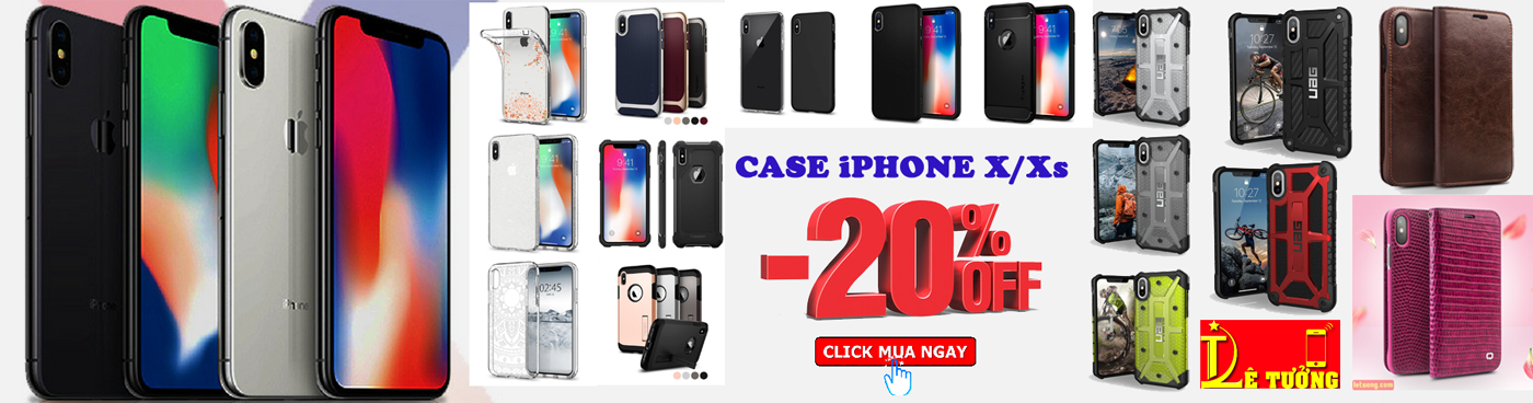 Giảm Giá 20% Phụ Kiện iPhone X, iPhone Xs