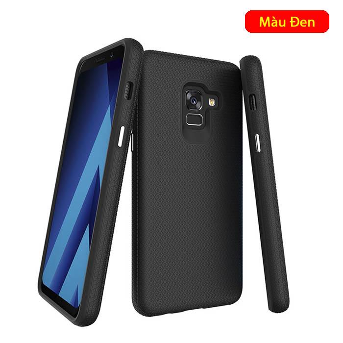 Ốp lưng Galaxy A8 2018 Toko Triangle Armor chống sốc - khung kép