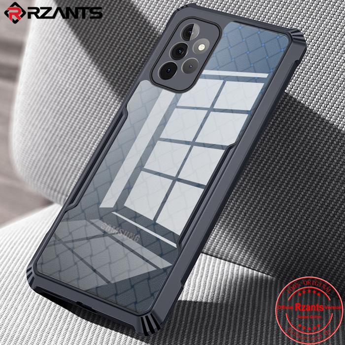 Ốp lưng A52 5G Rzants Armor Knit Fabric 3D trong suốt thời trang