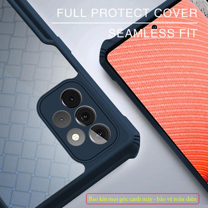 Ốp lưng A52 5G Rzants Armor Knit Fabric 3D