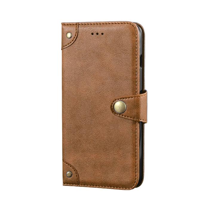 Bao da Samsung A72 5G iDewei Wallet Vintage Sang Trọng - Cổ điển