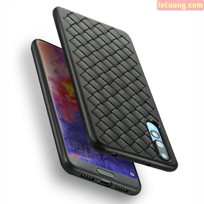 Ốp lưng Huawei P20 Pro Benks Magic Weaveit Grid Pattern dạng đan tay