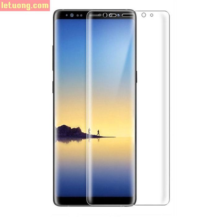 Miếng dán full màn hình Galaxy Note 8 Vmax 3D Curved TPU