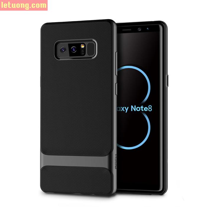 Ốp lưng Galaxy Note 8 Rock Royce viền kép thời trang - sang trọng