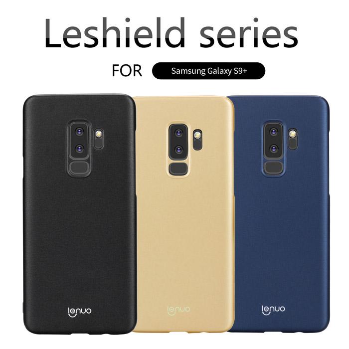 Ốp lưng Galaxy S9 Plus Lenuo Leshield Case siêu mỏng lưng mịn