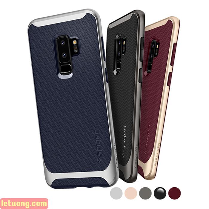 Ốp lưng Galaxy S9 Plus Spigen Neo Hybrid viền kép từ USA