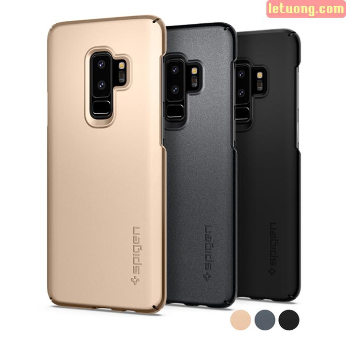 Ốp lưng Galaxy S9 Plus Spigen Thin Fit siêu mỏng nhẹ từ USA