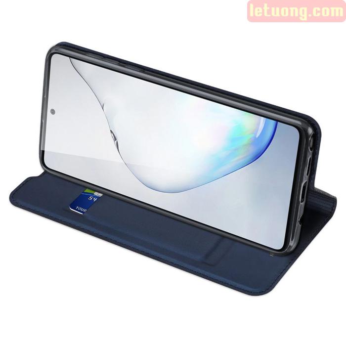 Bao da Galaxy Note 10 Lite Dux Ducis Skin khung mềm - siêu mỏng - siêu mịn