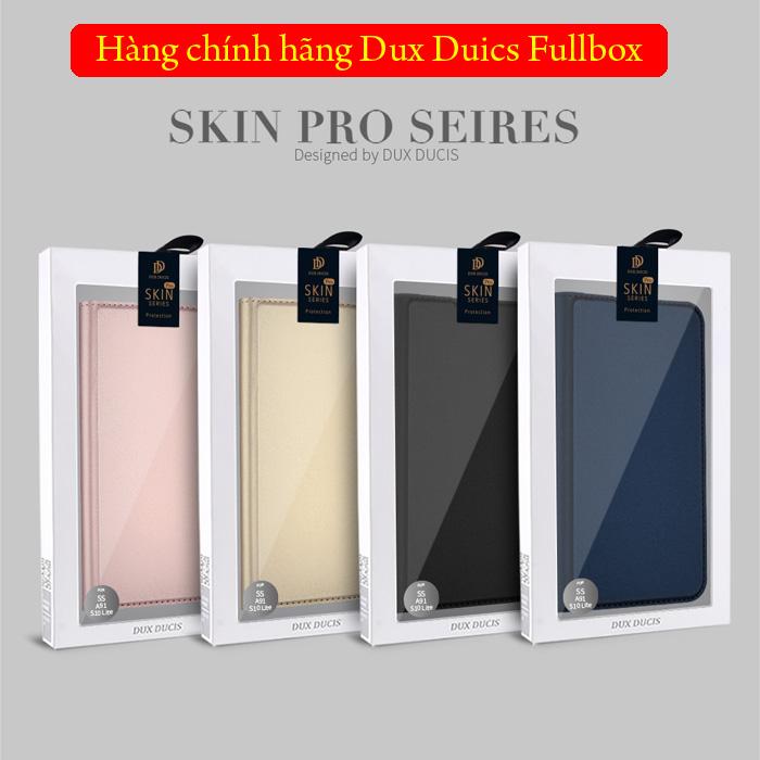 Bao da Galaxy S10 Lite Dux Ducis Skin khung mềm - siêu mỏng - siêu mịn