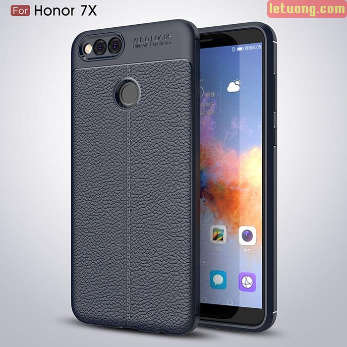 Ốp lưng Huawei Honor 7X LT Leather Design Case vân da sang trọng