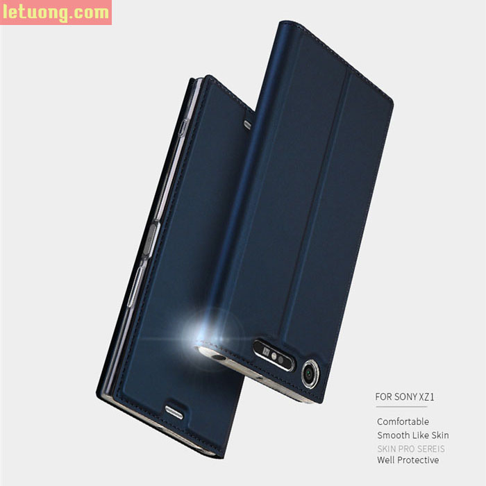Bao da Sony XZ1 Dux Ducis Skin khung mềm trong suốt, siêu mỏng