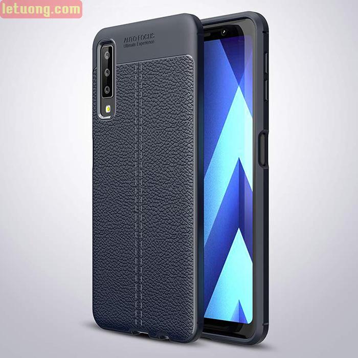 Ốp lưng Galaxy A7 2018 LT Leather Design Case vân da sang trọng