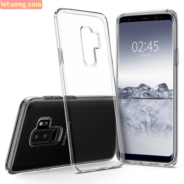 Ốp lưng Galaxy S9 Plus Spigen Liquid Crystal trong suốt từ USA
