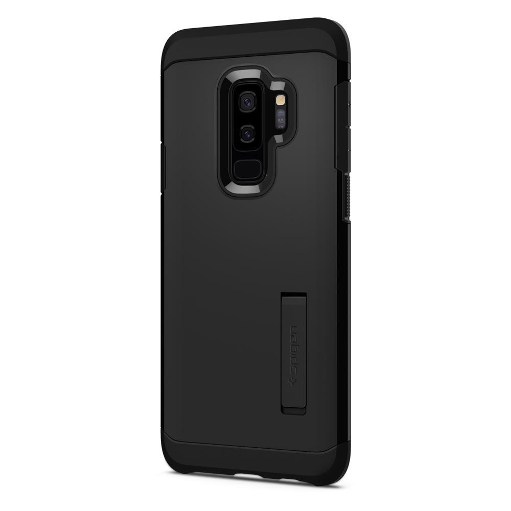 Ốp lưng Galaxy S9 Plus Spigen Tough Armor chống va đập từ USA tặng dán lưng Carbon
