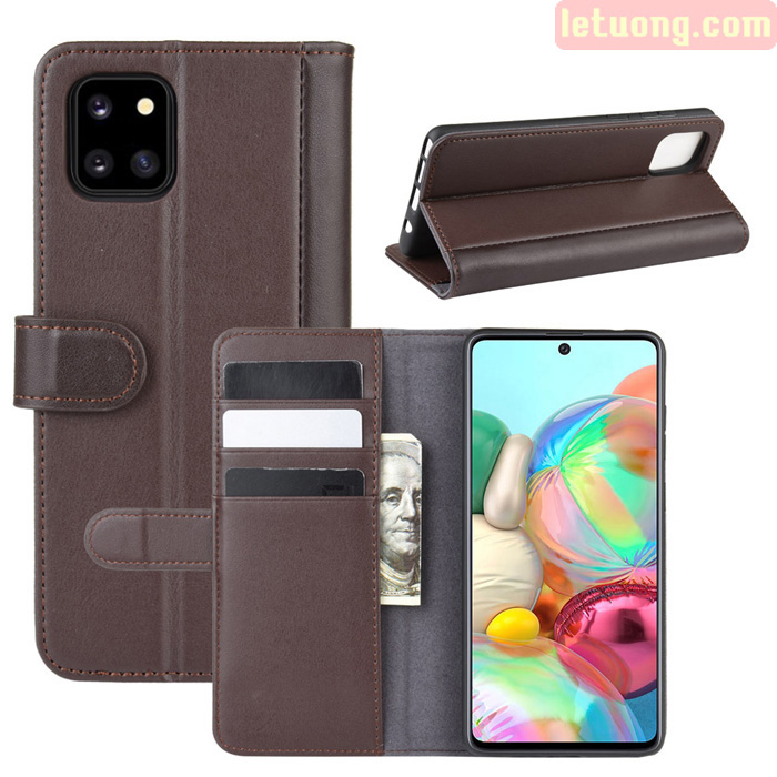 Bao da Galaxy Note 10 Lite LT Wallet Leather dạng ví siêu bền - siêu êm