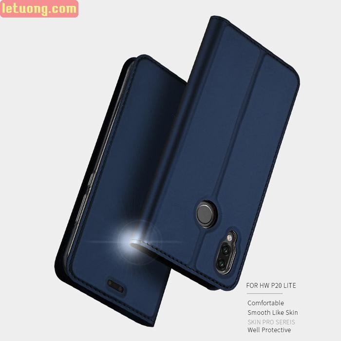 Bao da Huawei Nova 3E Dux Ducis Skin khung mềm - siêu mỏng