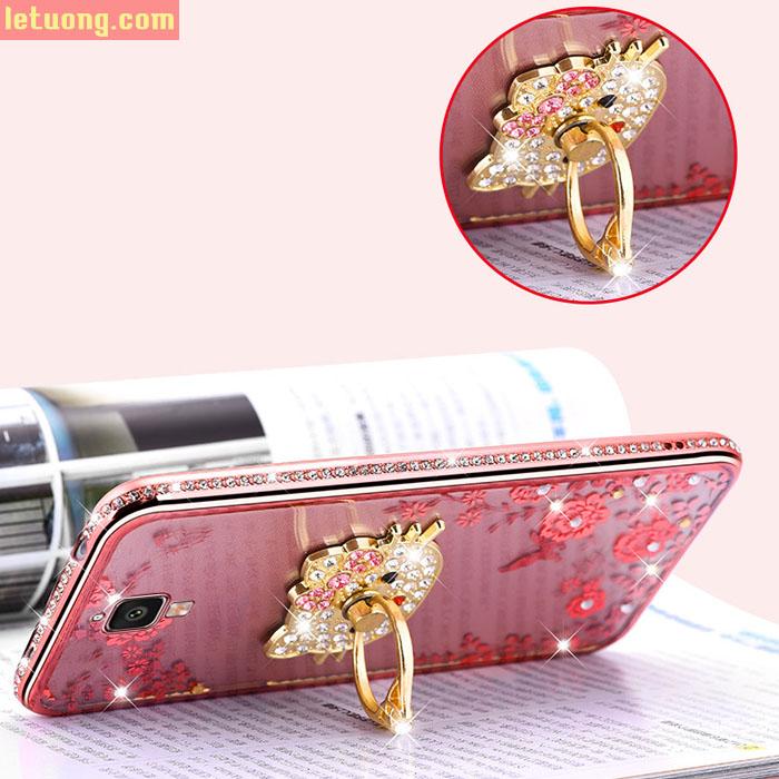 ốp lưng Xiaomi Mi4 LT TPU đính đá thời trang