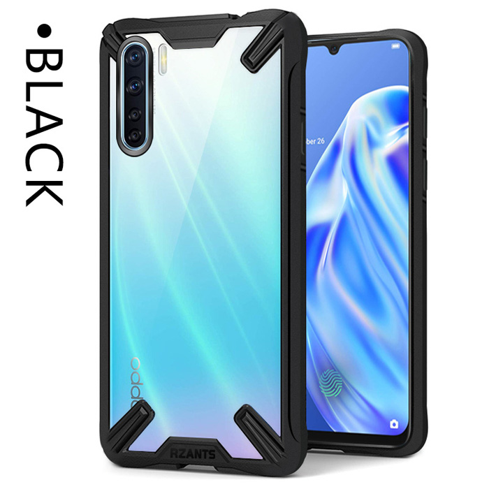 Ốp lưng Oppo Reno3 Rzants Fusion Armor trong suốt - chống sốc