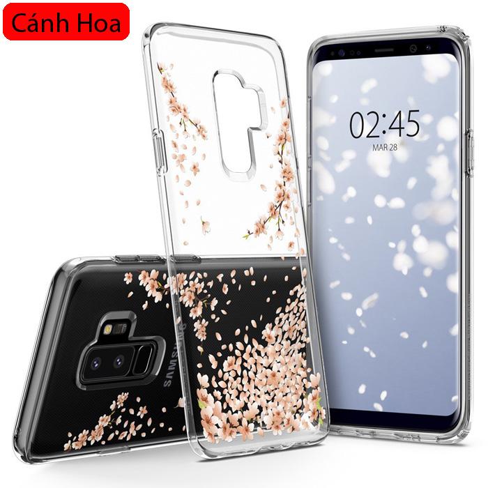 Ốp lưng Galaxy S9 Plus Spigen Liquid Crystal Blossom thời trang