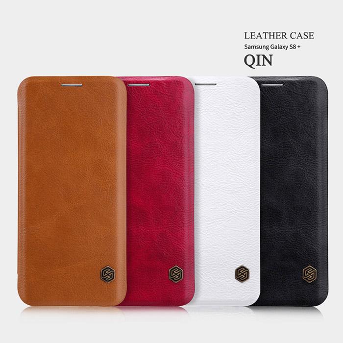 Bao da Galaxy S8 Plus Nillkin Qin Leather sang trọng, cổ điển bền bỉ