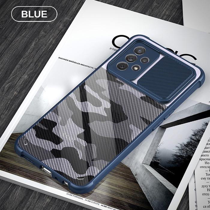 Ốp lưng Samsung A52, A52 5G Rzants Camo bảo vệ camera