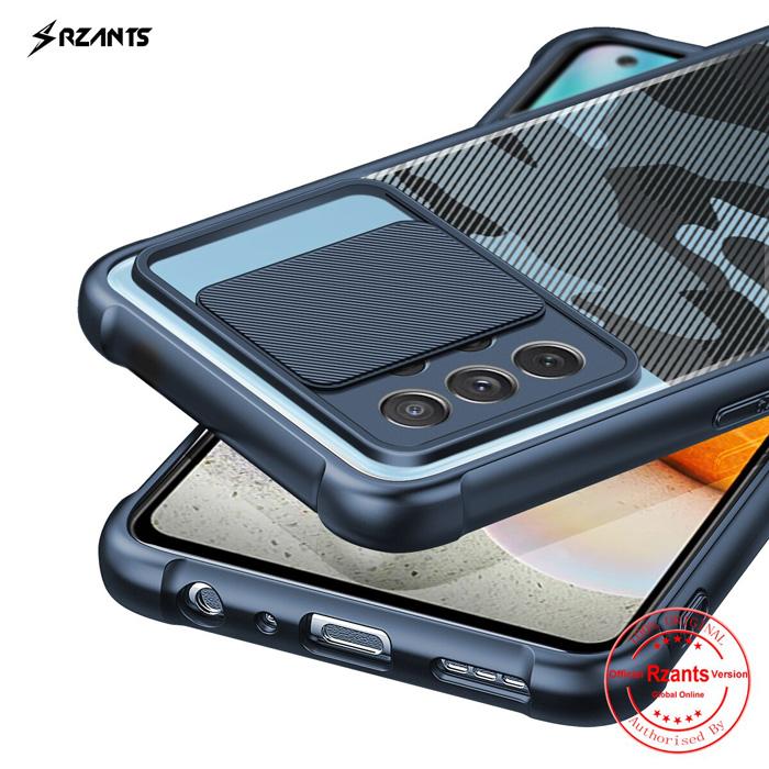 Ốp lưng Galaxy A72, A72 5G Rzants Camo bảo vệ camera