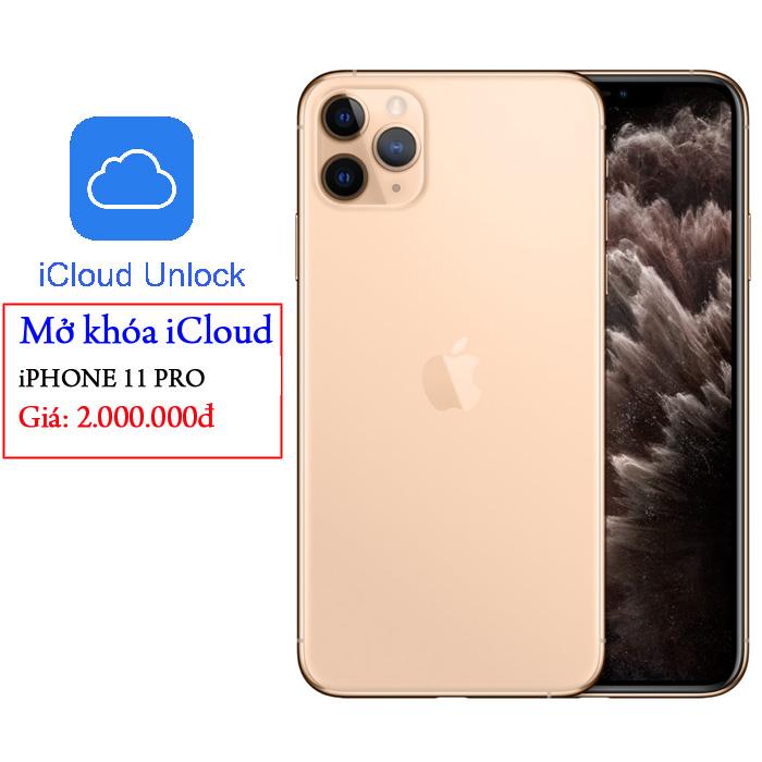 Dịch vụ mở khóa iCloud iPhone 11 Pro < bảo hành trọn đời > lấy trong 30 Phút