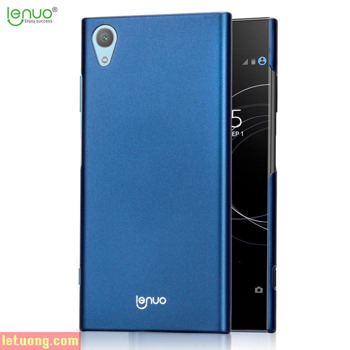 Ốp lưng Sony XA1 Plus Lenuo Shield Case siêu mỏng, lưng mịn