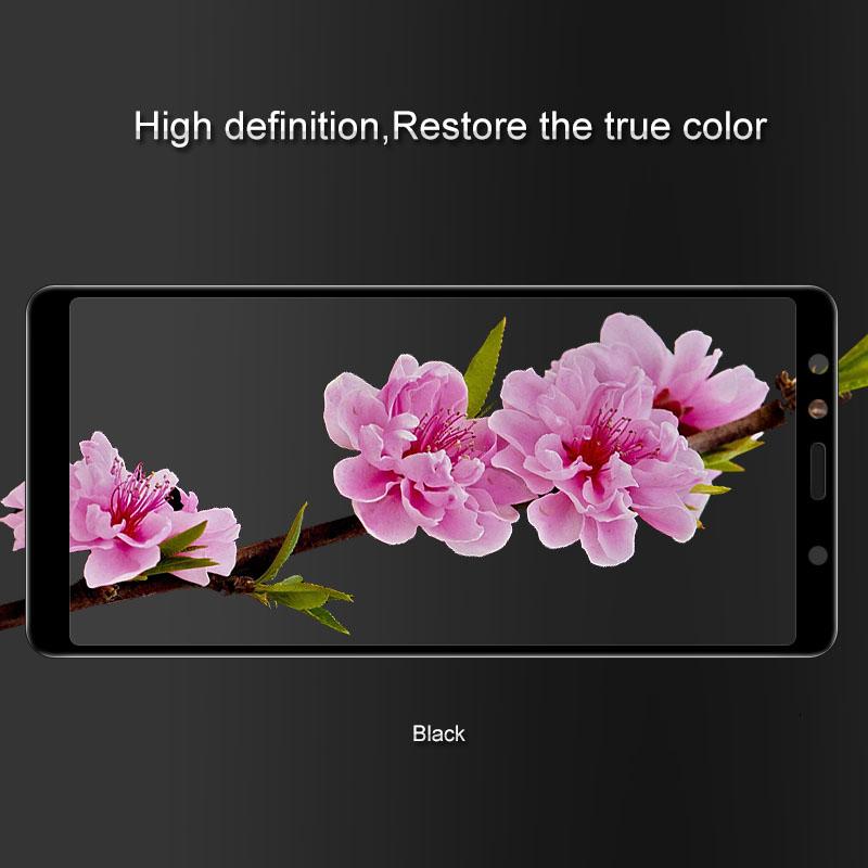 Kính cường lực Galaxy A7 2018 Glass Full Cover 5D Cong theo màn hình