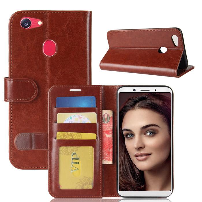 Bao da Oppo F5 / F5 Youth LT Wallet Leather dạng ví đa năng khung mềm chống sốc