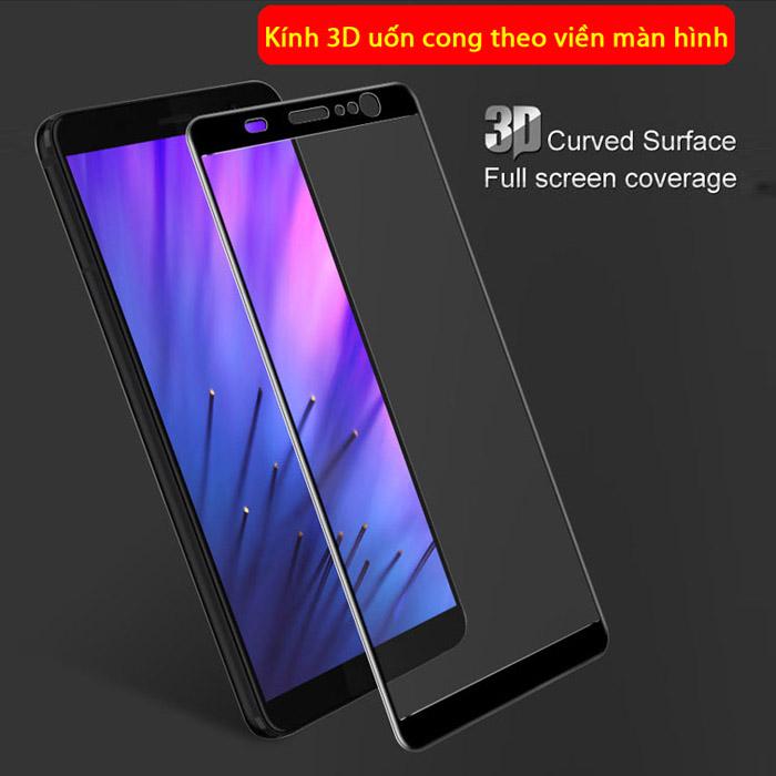 Kính cường lực Sony XA1 Plus Imak 3D Edge full cong theo màn hình